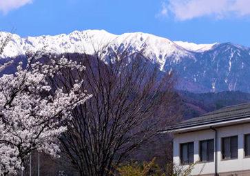 「二つのアルプスが見えるまち」飯島町
